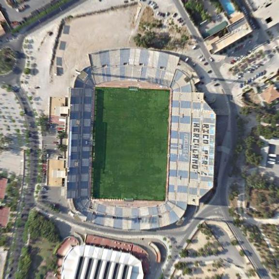 Estadio José Rico Pérez Стадион Хосе Рико Перес