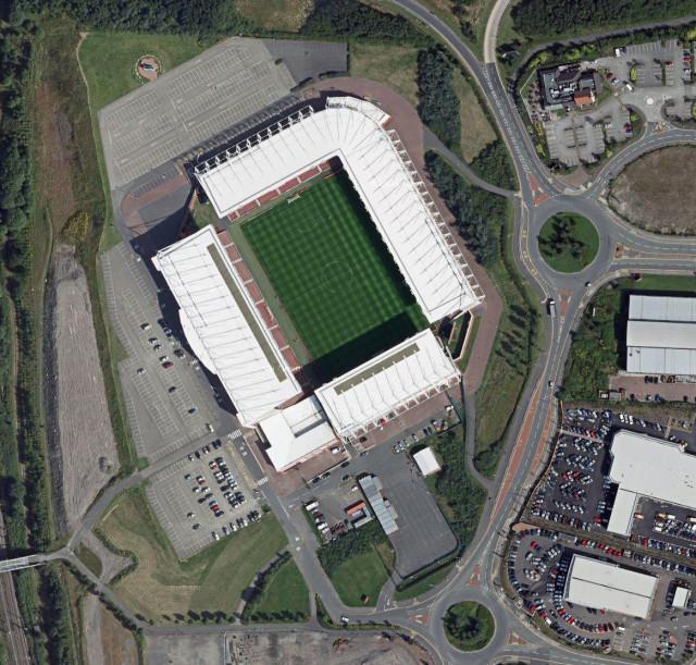 The Britannia Stadium Сток Сити Stoke City