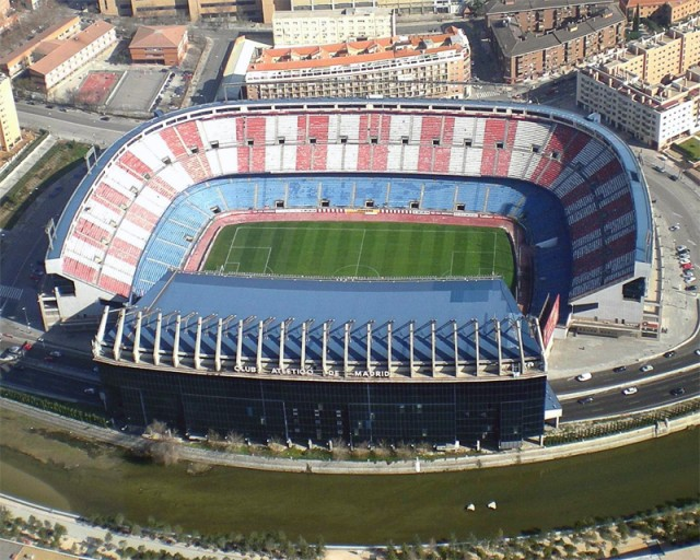 стадион висенте кальдерон estadio vicente calderon