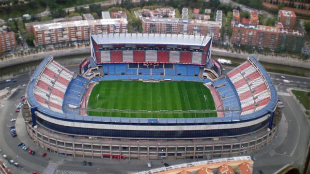 стадион имени Висенте Кальдерона Estadio Vicente Calderón