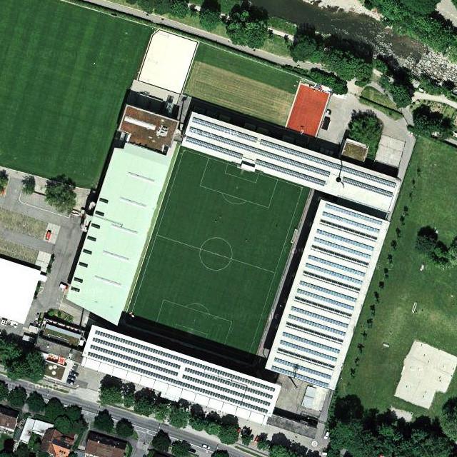 Badenova-Stadion стадион Баденова