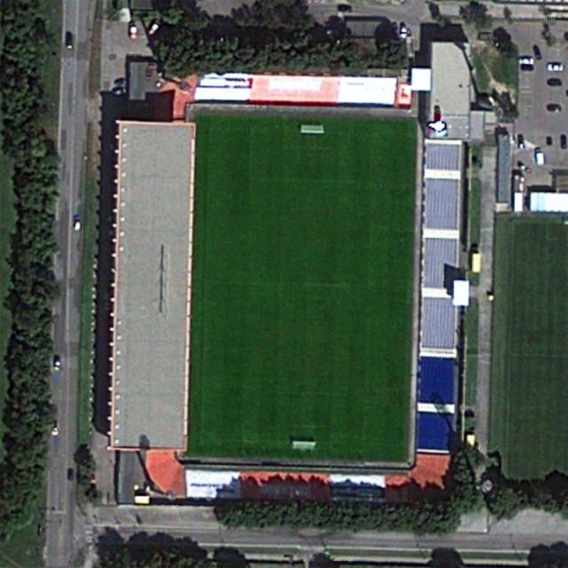 Bundesstadion Südstadt  Trenkwalder Arena Бундесштадион Тренвалдер Арена стадион