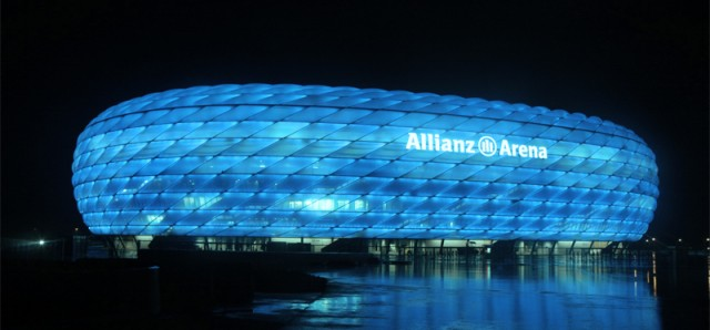 The Allianz Arena Альянс Арена Бавария Мюнхен