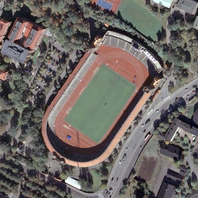 Олимпийский стадион Стокгольм Юргорден