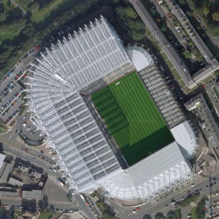 Сент Джеймс Парк стадион Ньюкасл St.James Park Stadium Newcastle