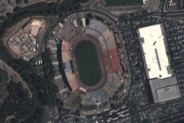 Футбольный стадион Рамат Ган, город Тель-Авив, Израиль.