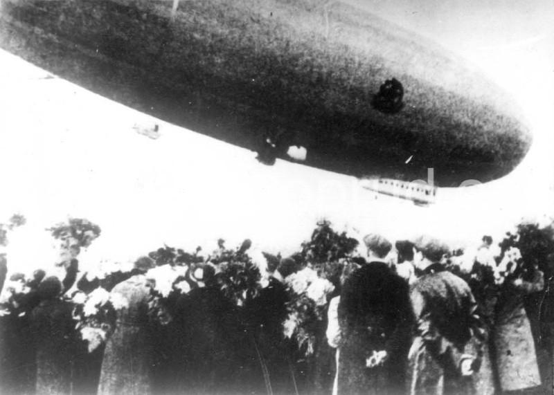 Встреча дирижабля «СССР-В6»