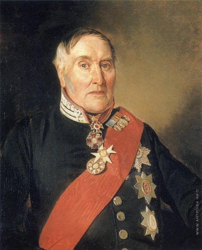 Портрет баронета Я.В. Виллие.
