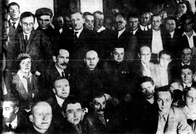 Писательская делегация
