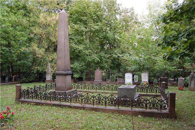 Могила Грановского на Пятницком кладбище в Москве