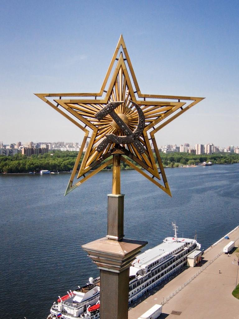 Москва. Северный речной вокзал