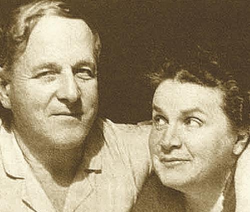 Алексей Замков и Вера Мухина