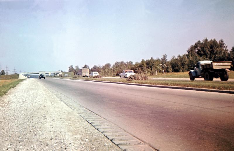 МКАД 70-х гг.