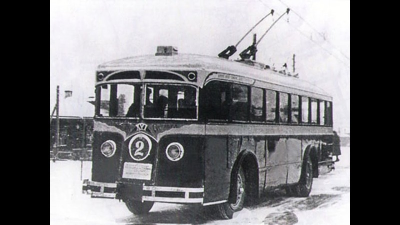 Троллейбус ЛК