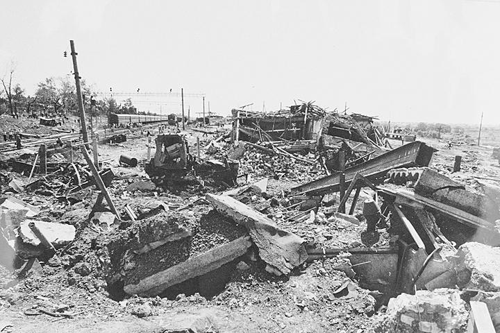 Взрыв на станции Куровская