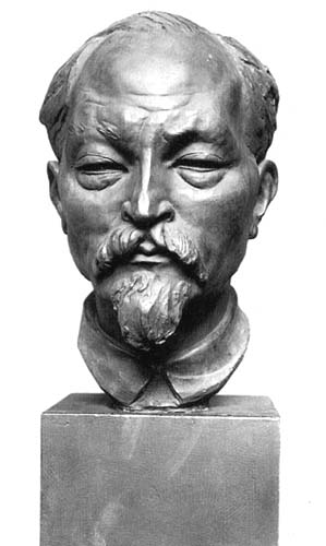 Бюст «главного чекиста», созданный Лебедевой в 1925 году
