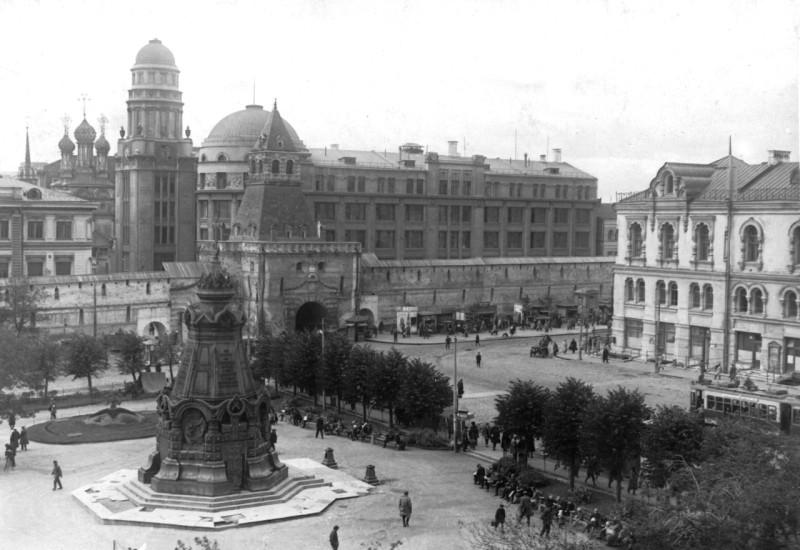 Ильинские ворота. Начало 20 века