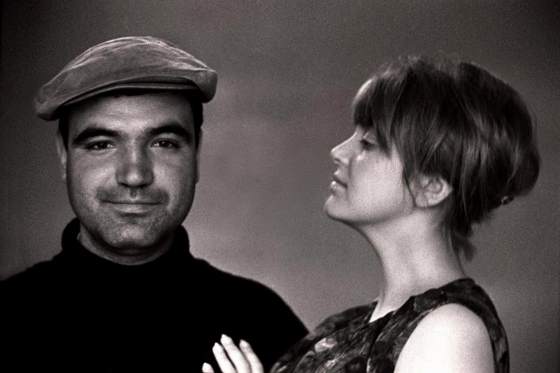 Геннадий Шпаликов и его супруга Инна Гулая