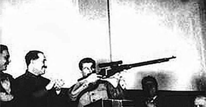 Сталин с винтовкой