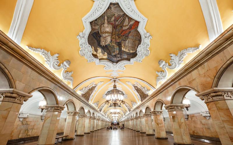 Московское метро. Кольцевая линия