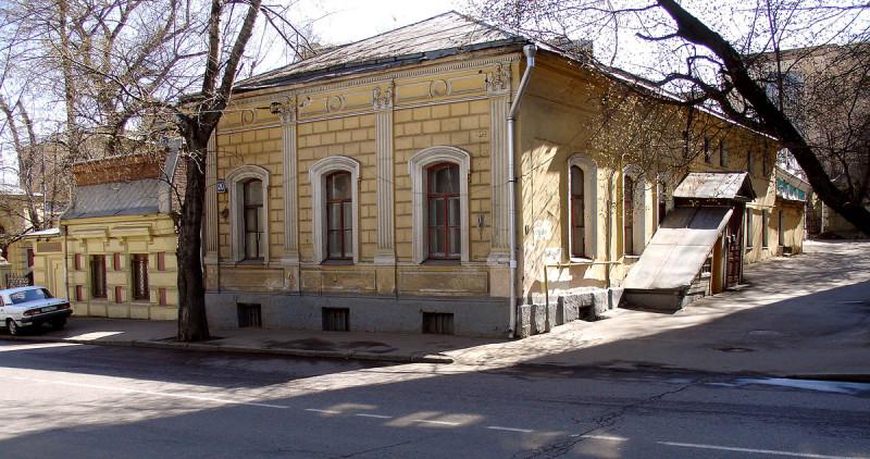 Дом на Новой Басманной, где жил Чаадаев