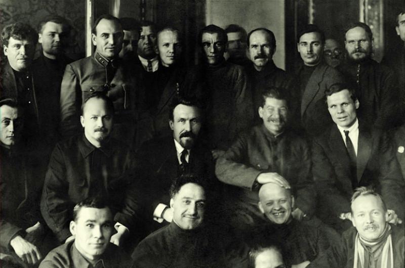 Участники XII съезда РКП (б)