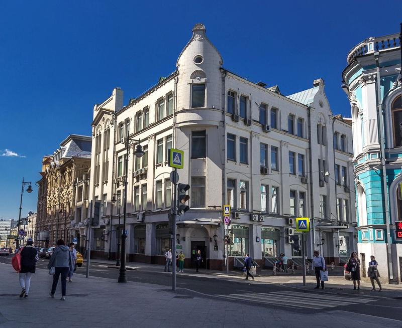 Дом Кеппена. Москва. ул. Мясницкая. арх. Р. Клейн