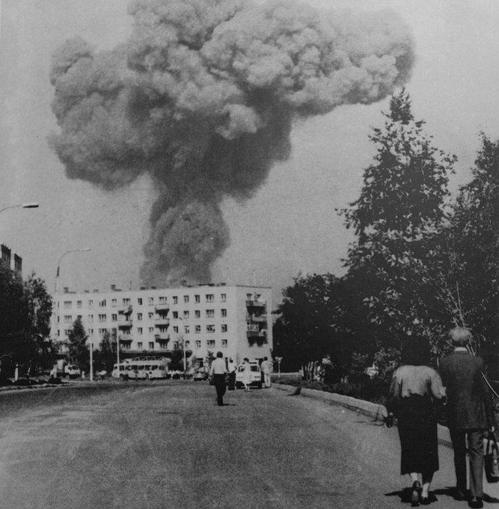 Взрыв в Арзамасе