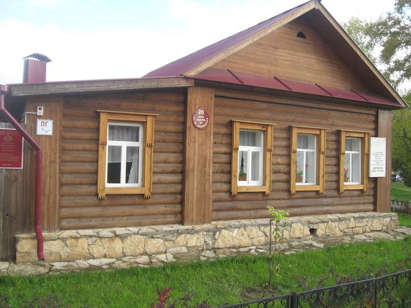 Дом в Елабуге, где провела последние дни Марина Цветаева
