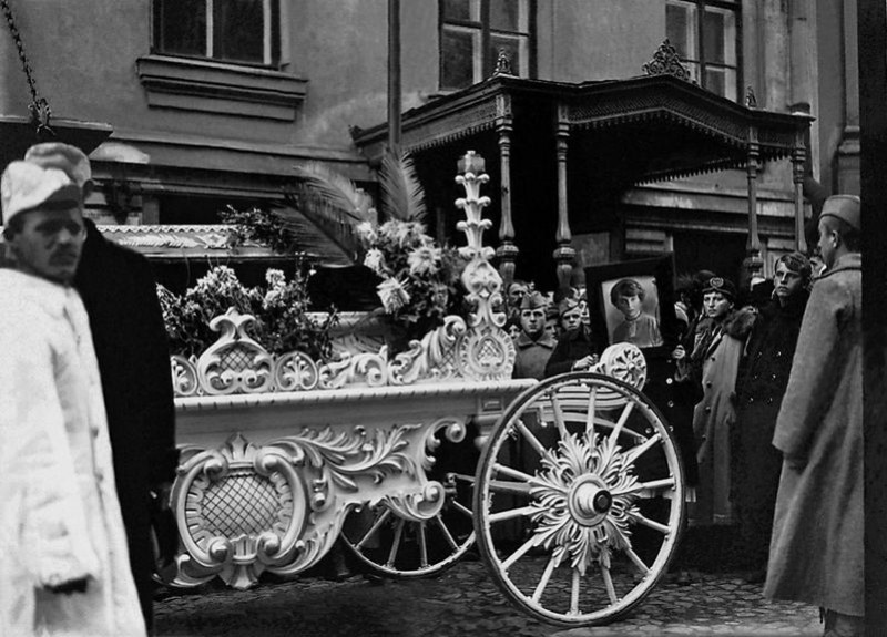 Похороны Инессы Арманд
