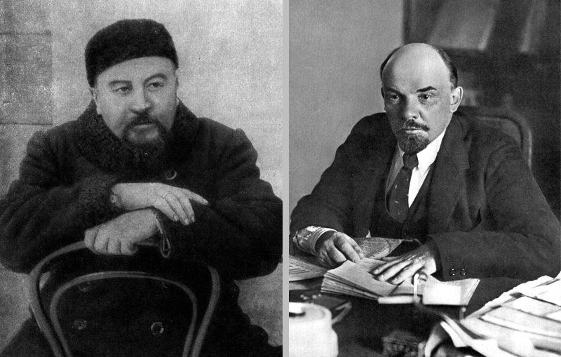 Александр Куприн и Владимир Ленин