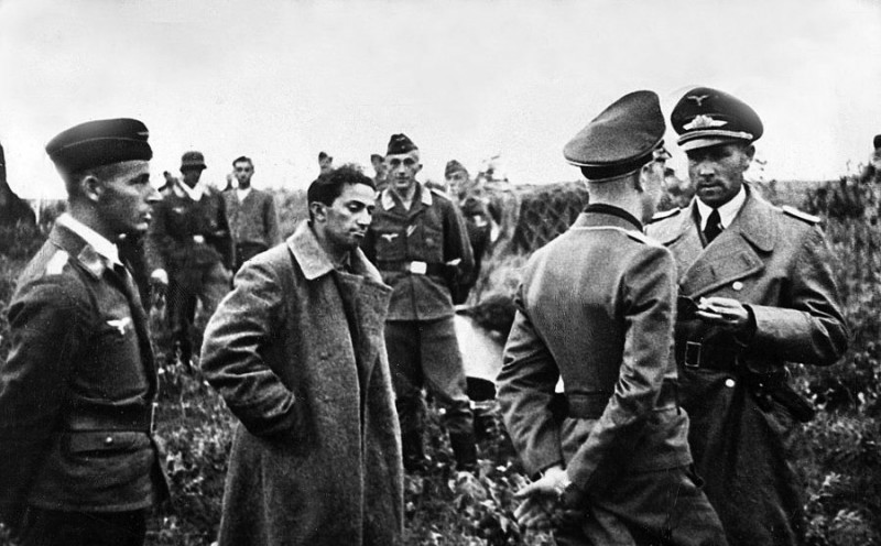 Яков Джугашвили в плену