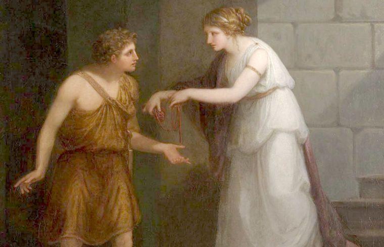 Тезей и Ариадна