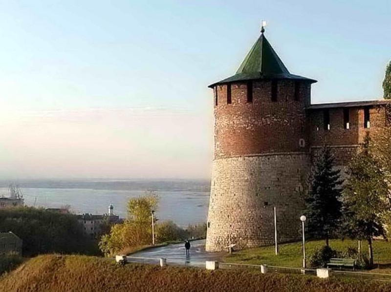 Нижегородский кремль. Коромыслова башня.