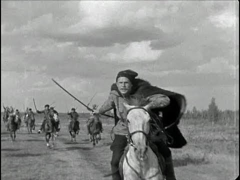 """Кадр из фильма """"Чапаев"""" (1934). В главной роли - Борис Бабочкин."""