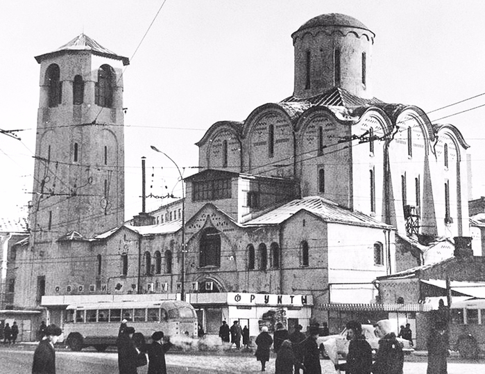 Никольский храм у Тверской заставы