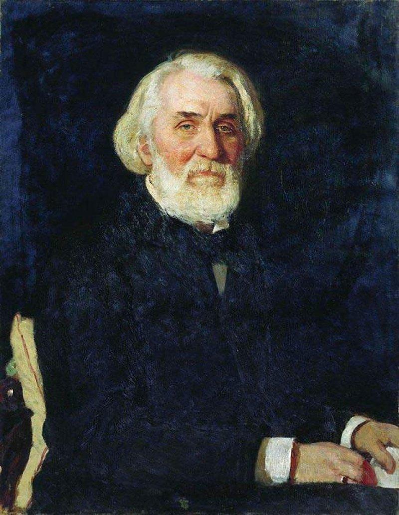 Портрет Тургенева с перстнем