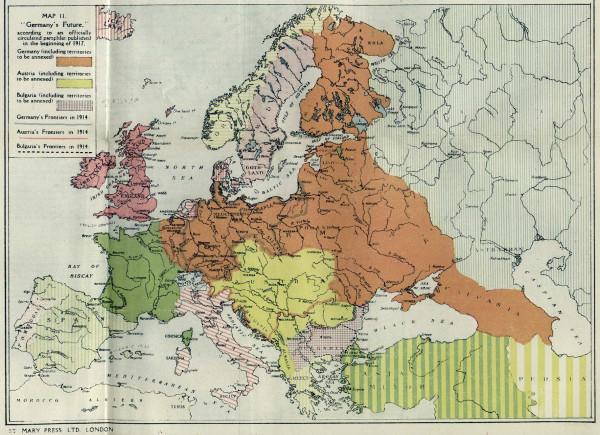 ПМВ Мечты немцев в 1917 г..jpg