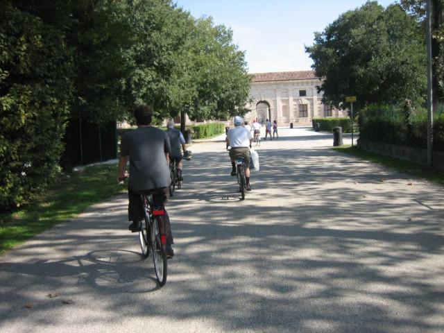 Biking with the locals