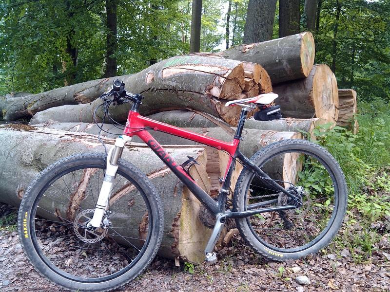 Мой велосипед с новым седлом