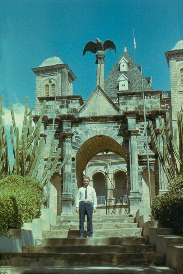 Мадагаскар.-1984.-Антананарива-дворец-королевы