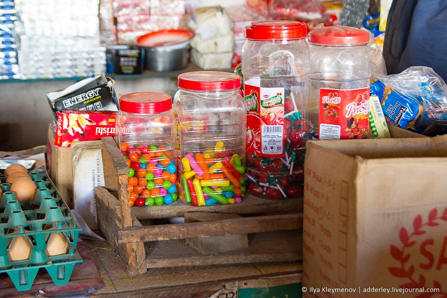 Rustic minimarket. Ilaka-Eats only, cement, Mistress, minimarket, Traveled, village, respected, bought, today, cities, we carry, Else, mosquitoes, poison, spray, sometimes we buy, sugar, chemistry, work