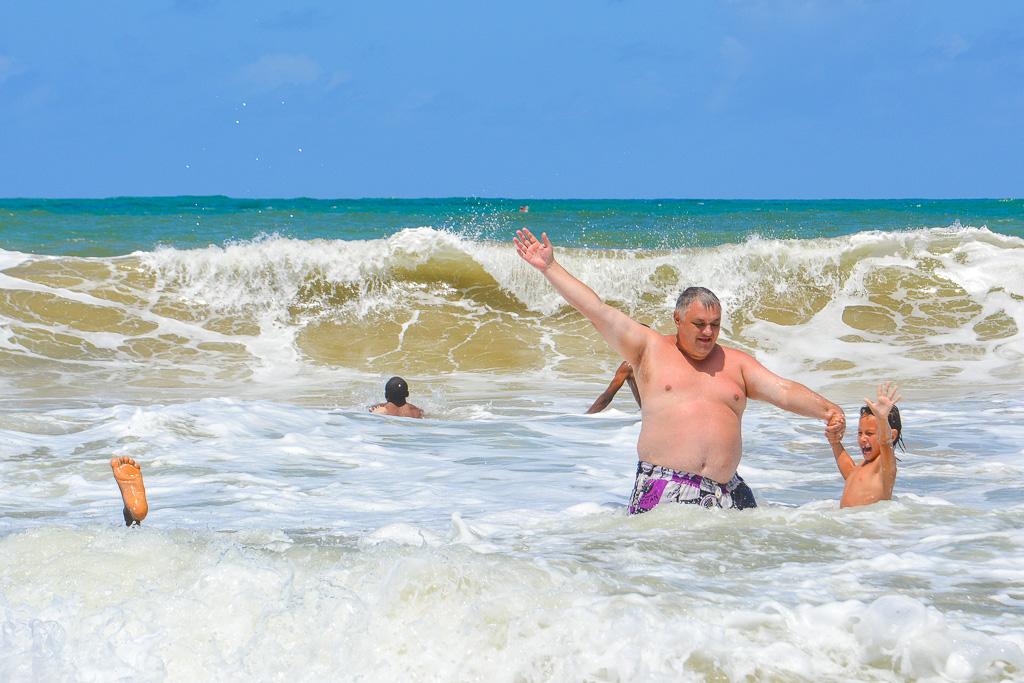 На пляж надо ездить вовремя