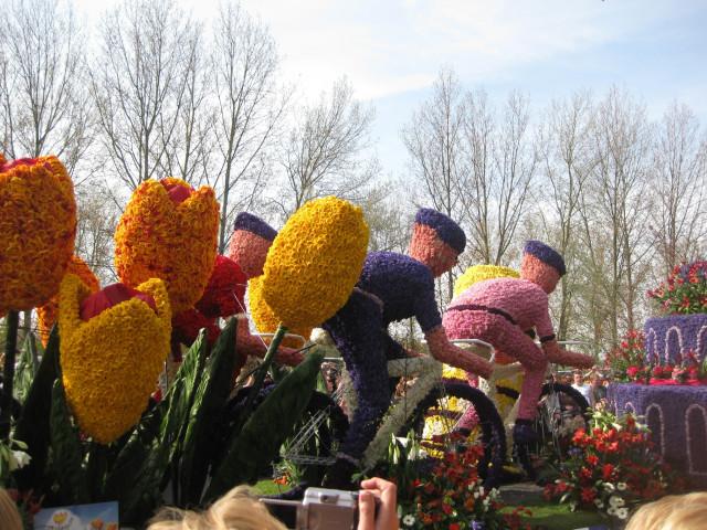 Главный парад - все из цветов