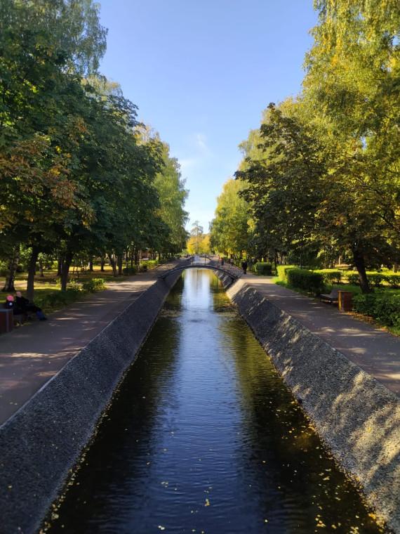 На фото один из старейших парков Казани- Парк Урицкий