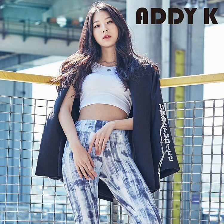 Ex-9MUSES Park Minha for ADDYK Magazine: omonatheydidnt