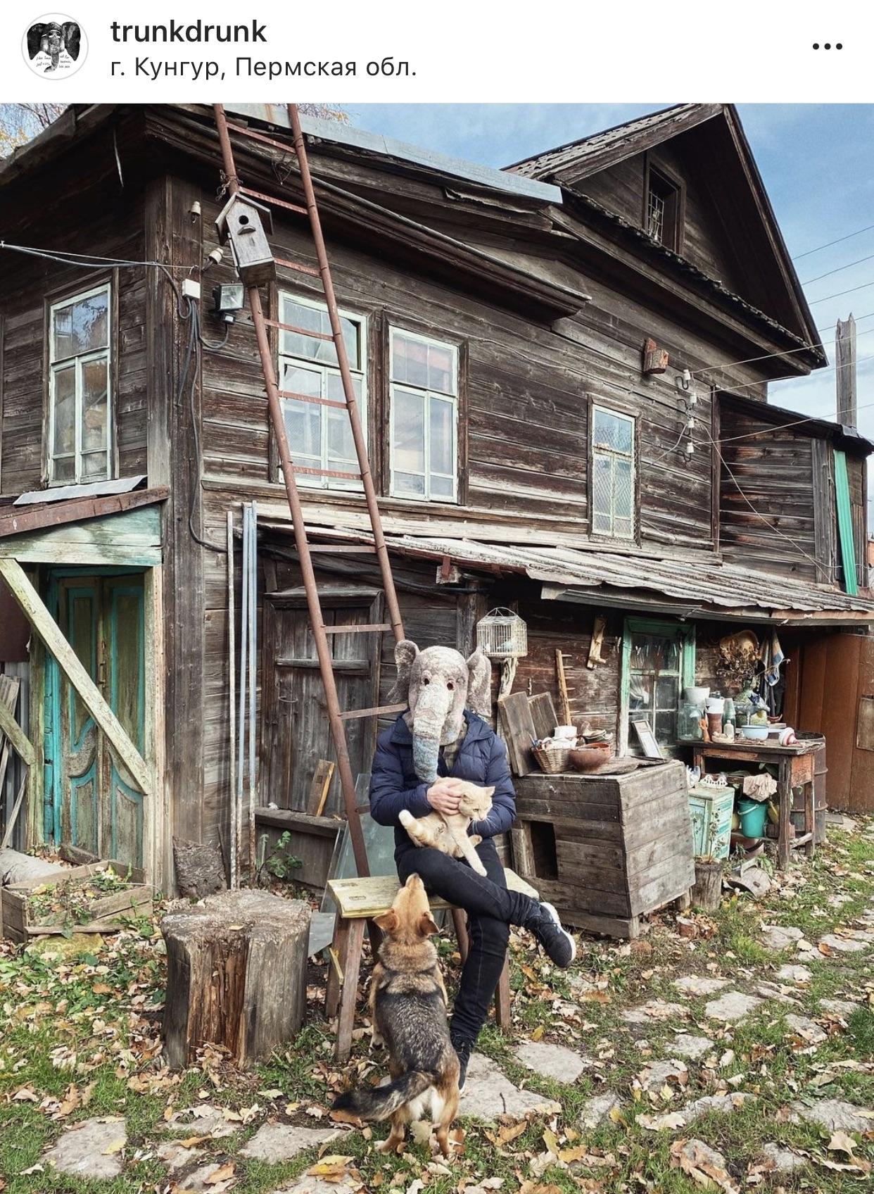 @trunkdrunk - «пьяный хобот» бродит по нашей родной Хтони. И Хтонь от этого становится особенно милой и уютной.