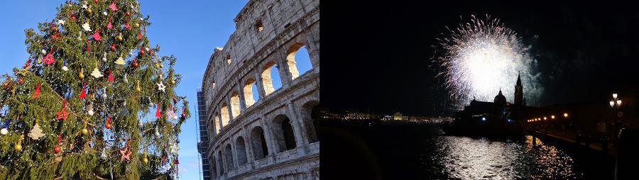 Рим на Рождество, Венеция на Новый год
