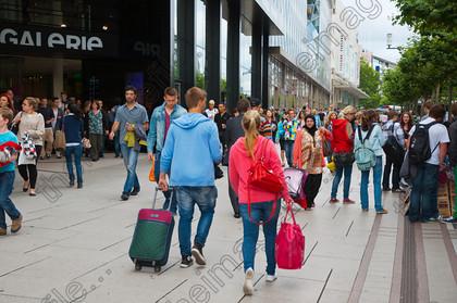 Frankfurt Zeil street