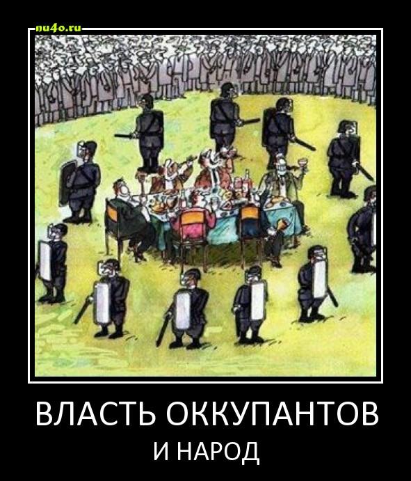власть оккупантов и народ